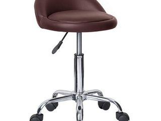 Juno Adjustable Height Massage Stool w  Wheels