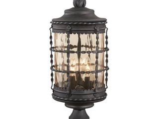 The Great Outdoors Textured Chain Hung Spanish Iron light