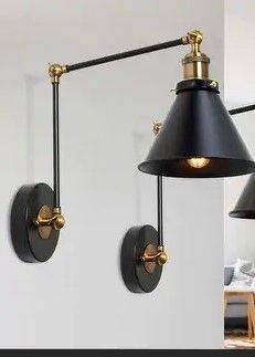 Modern Contemporary 2 light Armed Swing Sconce