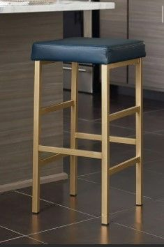 Porch  amp  Den Moscato Backless Stool