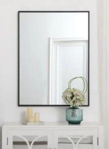 Carson Carrington Salsnas Metal Frame Rectangular Mirror