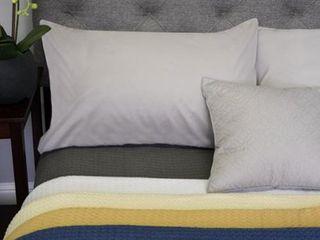 Cotton Basket 100  Cotton Weave Blanket   King