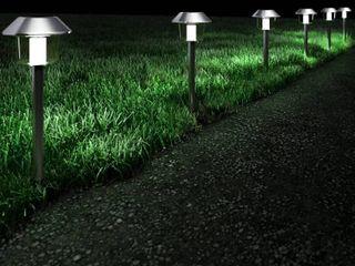 Pure Garden Solar Pathway lights   Set of 6