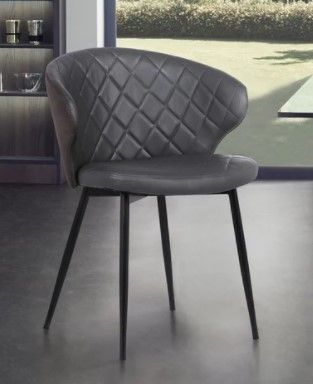 Melissa Contemporary Faux leather Dining Chair