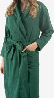 Classic Turkish Cotton Thick luxurious Shawl Collar Bathrobe   Medium