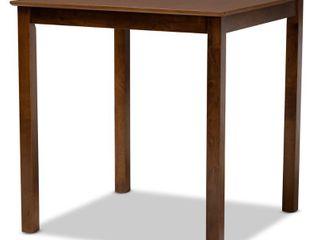 Baxton Studio Nicolette Finished Wood Pub Table
