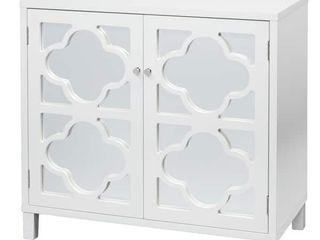 lifestorey Broadway Mirrored Double Door Cabinet