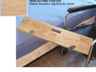 slide transfer board wood  440lb capacity Retail   60