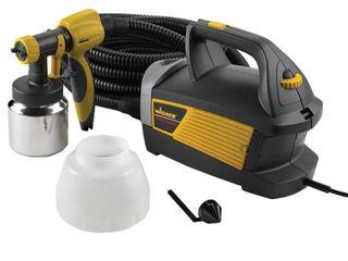 WAGNER 0518080 HVlP Paint Sprayer 2 Stage 1 1 2 qt Retail   110