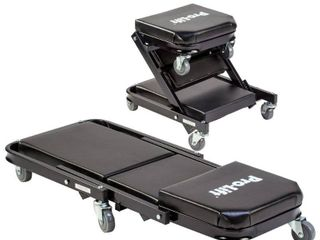 Pro lift C 9100 Black 40  Foldable Z Creeper  450 pounds    2 in 1 Creeper   Seat Retail   110