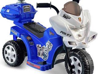 Kid Motorz lil  Patrol 6 Volt Battery Powered Ride On Motorcycle Retail   50