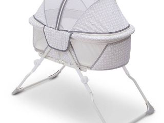 Delta Children EZ Fold Ultra Compact Travel Bassinet Retail  454