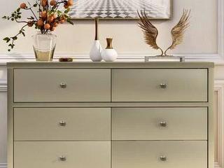 Six drawer dresser Champagne WF194145AAl retail   649