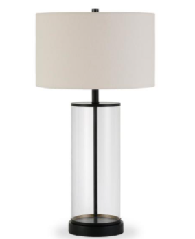 Glass table lamp with hand painted finish TlO122 Retail   94