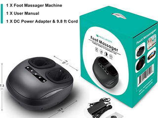 Medcursor Foot Massager Machine With Heat  Shiatsu Deep Kneading Massage Retail   80