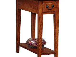 Favorite Finds Side Table Medium Oak Finish   leick Home Retail   90
