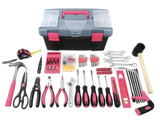 Apollo Tools DT7102P 170 Piece Tool with Pink Tool Box Retail   55