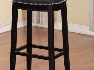 Furniture of America Solid Oak Wood Counter Height Stool Retail  56