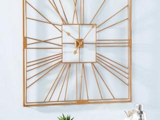 Carson Carrington laggbyn Contemporary Gold Metal Clock Retail  141 99