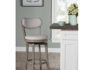Sloan Swivel Counter Height Stool Gray   Hillsdale Furniture Retail   128