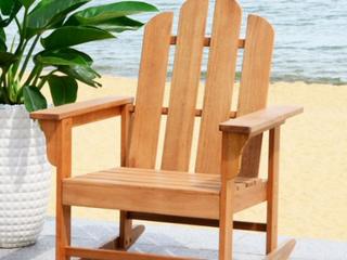 Safavieh outdoor furniture chair color  oil teak look Retail   175