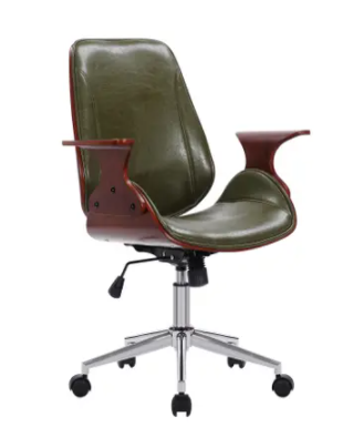 Porthos home shiny green chair Retail   235
