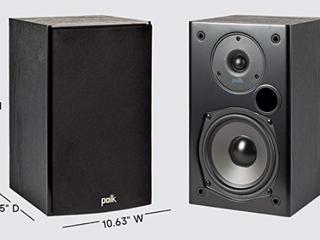 Polk T 15 bookshelf speaker Retail   99
