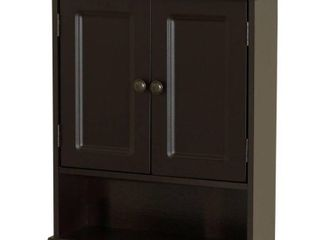 Zenith Products 9918CHA Espresso Collette Wall Cabinet Retail   99
