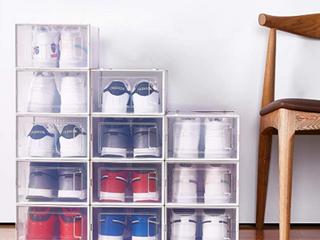 12 piece foldable Shoebox white Retail   50