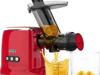 Orfeld red masticating juicer Retail   160
