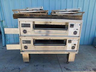 Middleby Marshall Double Stack Conveyor Ovens