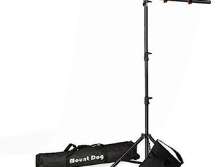 Upgraded SANDBAG Version  T Shape Backdrop Stand Kit 6 5x5ft  MOUNTDOG Photo Backdrop Stand Background Support System with 4 Clamps   Sandbag for Photography Video Studio  Backdrop NOT Included