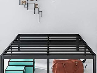 Zinus Van 16 Inch Metal Platform Bed Frame with Steel Slat Support   Mattress Foundation  Full
