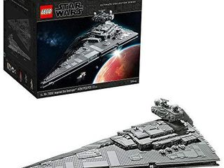 lEGO Star Wars  A New Hope Imperial Star Destroyer 75252 Building Kit  New 2020  4 784 Pieces