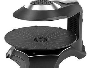 S SMAUTOP 3D Electric Smokeless Grill Black