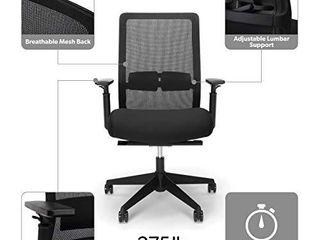 HON Basyx Biometryx Commercial Grade Task Chair  Black