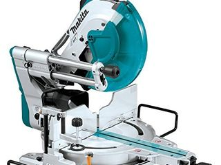 Makita lS1219l 12  Dual Bevel Sliding Compound Miter Saw with laser
