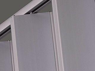 lTl Home Products El3696S Elite Interior Accordion Folding Door  36 x 96 Inches  Satin Silver