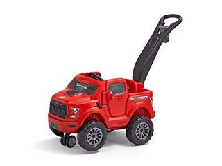 Step2 2 in 1 Ford F 150 Raptor   Kids Ride On Push Car   Red  483600