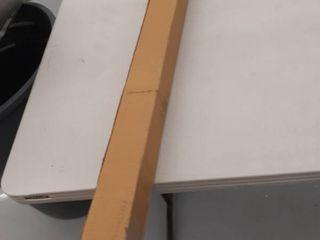 Arrow head Curtain rod no description 36 66