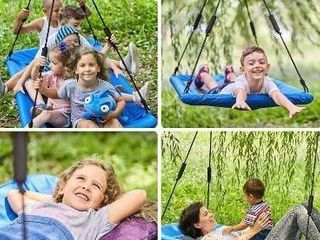 60 Inch Platform Tree Swing for Kids and Adults