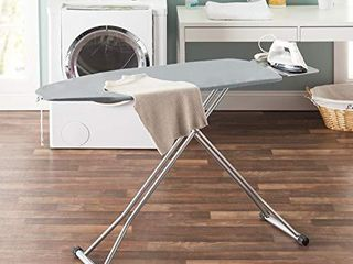 Sunbeam Adjustable Height Ironing Board with Iron Rest Holder Stand