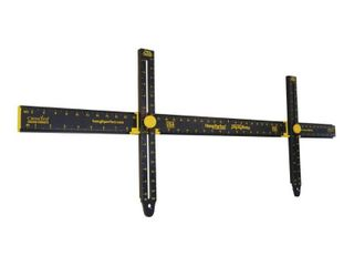 Hang It Perfect Easy Frame Hanging Tool  Black  36   HIP36