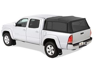 Bestop 7630835 Black Diamond Supertop for Truck   5 0  Bed for 2005 2017 Toyota Tacoma Double Cab