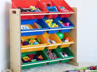 Kids Toy Organizer Natural   Humble Crew