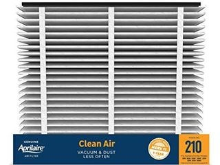 Aprilaire   210 A2 210 Replacement Air Filter for Whole Home Air Purifiers  Clean Air Dust Filter  MERV 11  Pack of 2