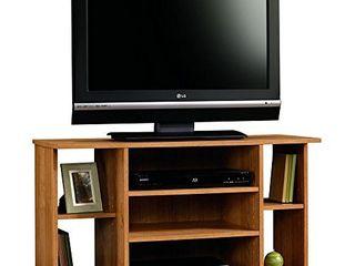 Sauder Beginnings TV Stand  For TV s up to 42  Highland Oak finish