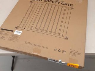 Metal Baby Safety Gate  lBY00018  35 38 W 30 h