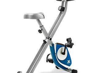 XTERRA Fitness FB150 Folding Exercise Bike  Silver  31 5l x 18W x 45 3H in