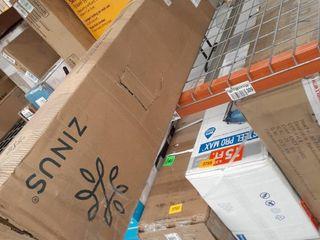 Zinus Walter 4  Smart Box Spring Mattress Foundation Queen Open Box Ne 79  X 38